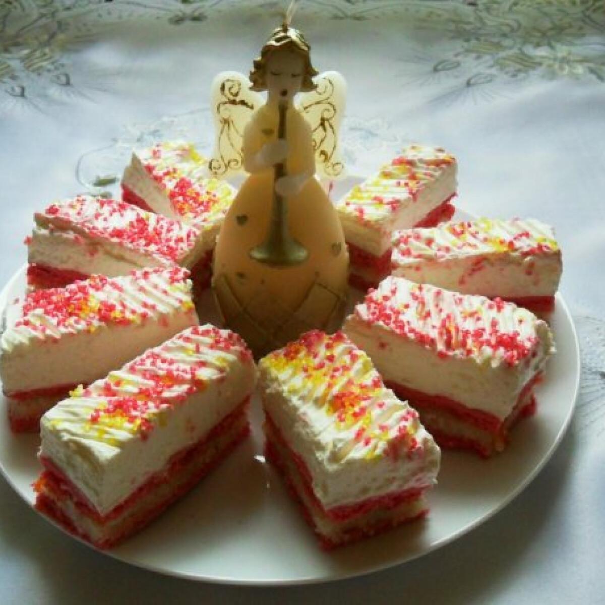 Ezen a képen: Kókuszos szelet Csilla konyhájából