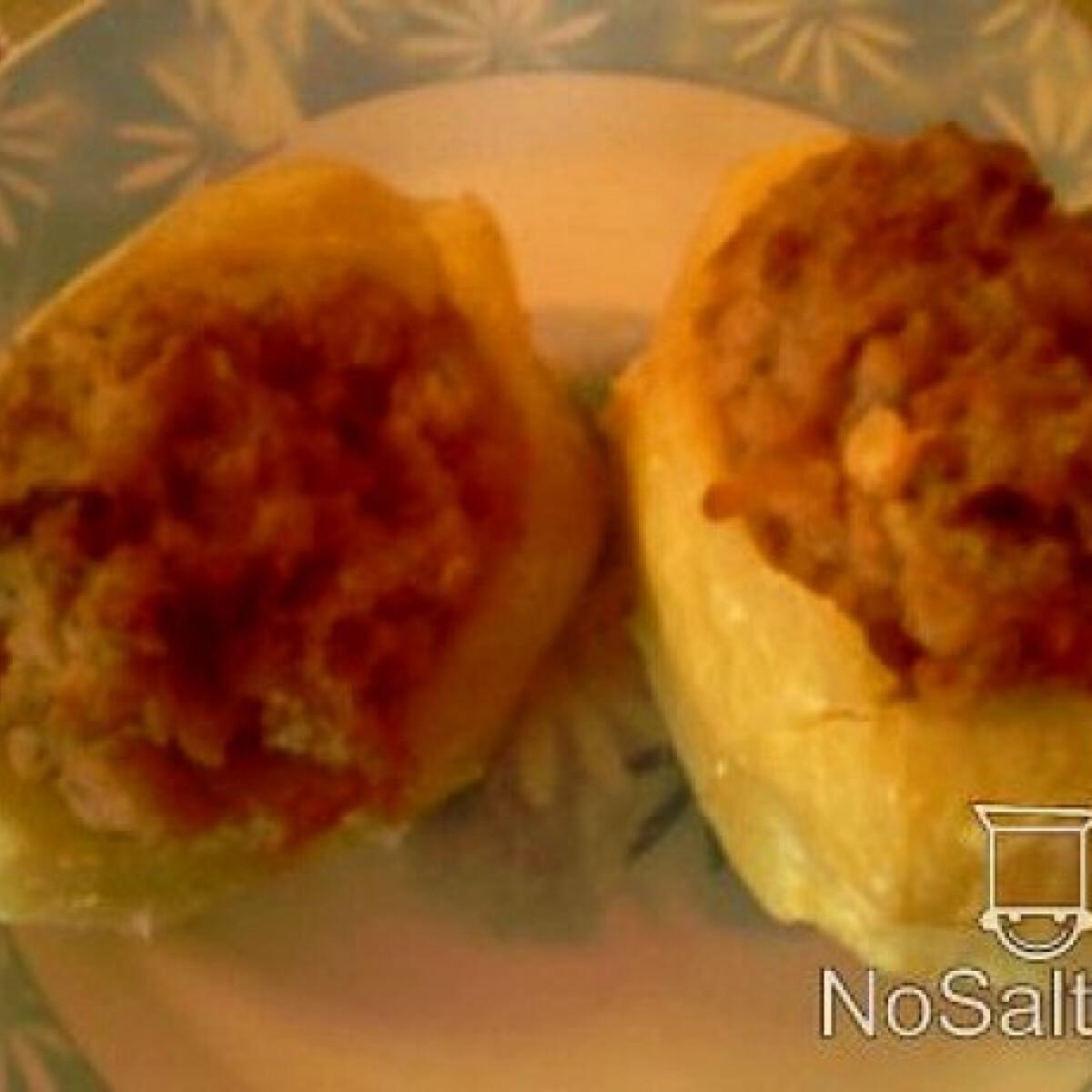 Ezen a képen: Töltött krumpli - Angie konyhájából