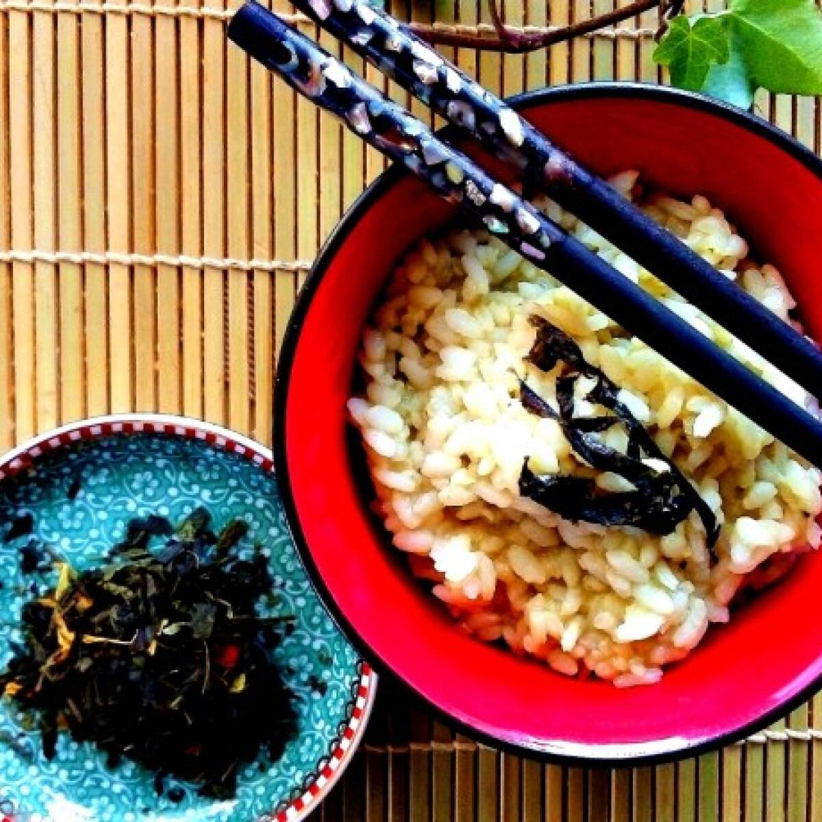 Ezen a képen: Chagayu - rizs zöldteában főzve reggelire