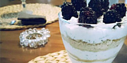 Kapros túrós pohárkrém