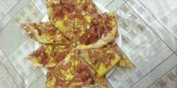 Házi pizza Hangman konyhájából