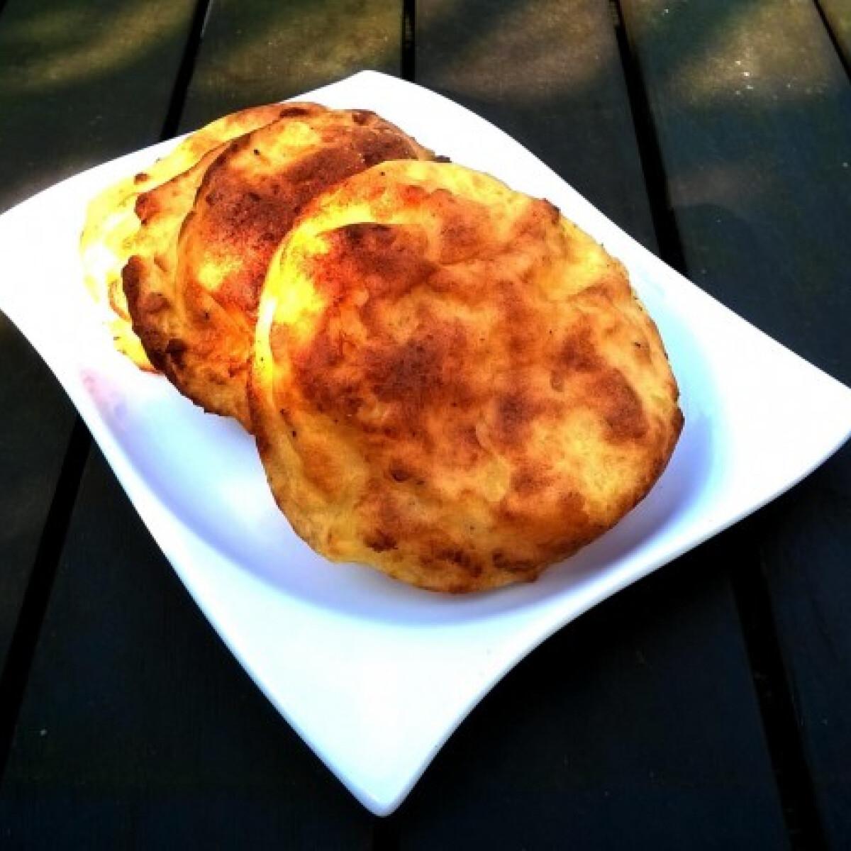 Ezen a képen: Burgonyalepénykék sütőben sütve
