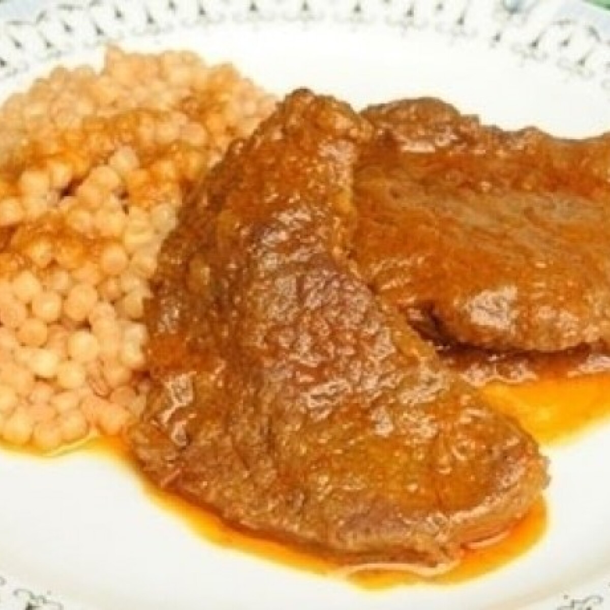 Ezen a képen: Lapos hús