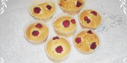 Málnás muffin tojásfehérjéből