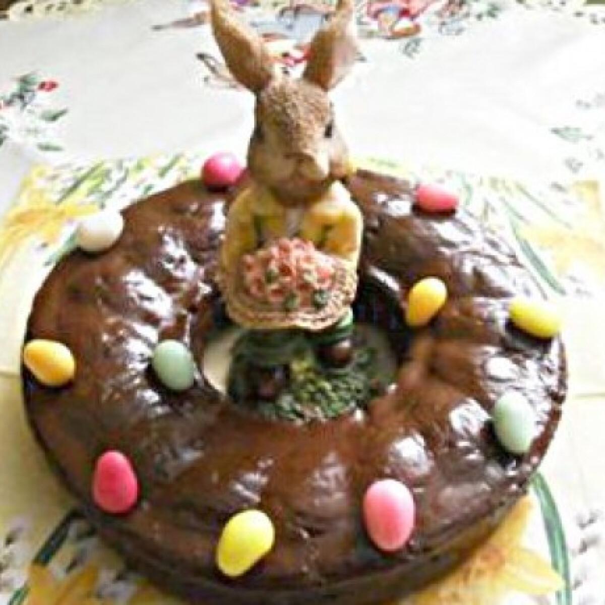 Ezen a képen: Húsvéti burgonyás koszorú