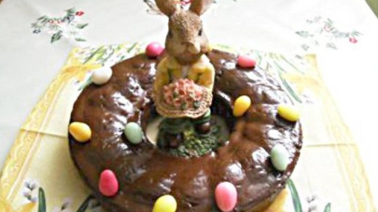 Húsvéti burgonyás koszorú