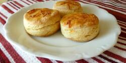 Cottage cheese pogácsa