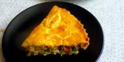 Csirkés-zöldséges pite