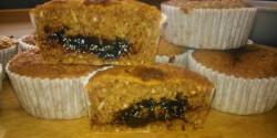 Szilvás-fahéjas paleo muffin