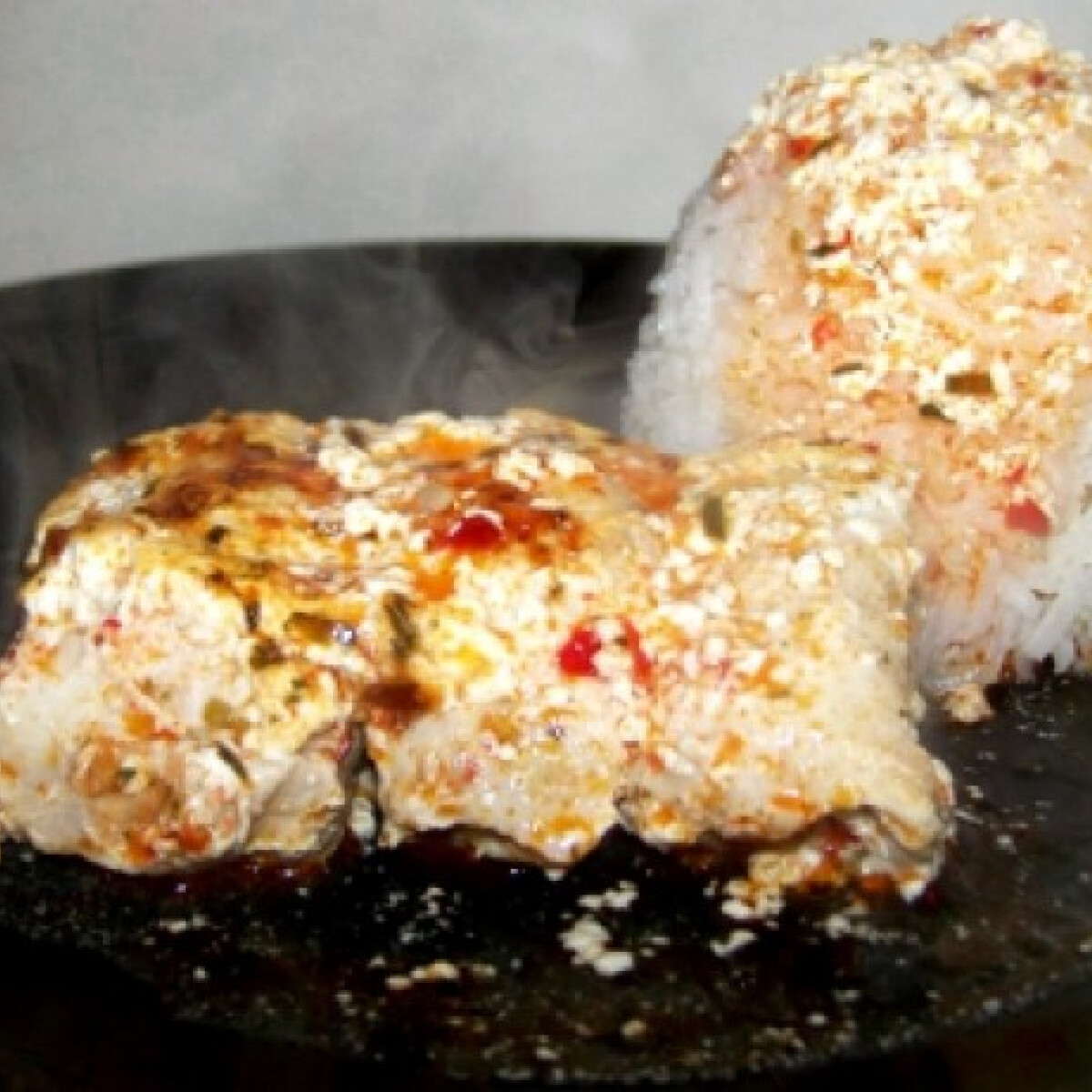 Ezen a képen: Tejszínes csípős csirkemell