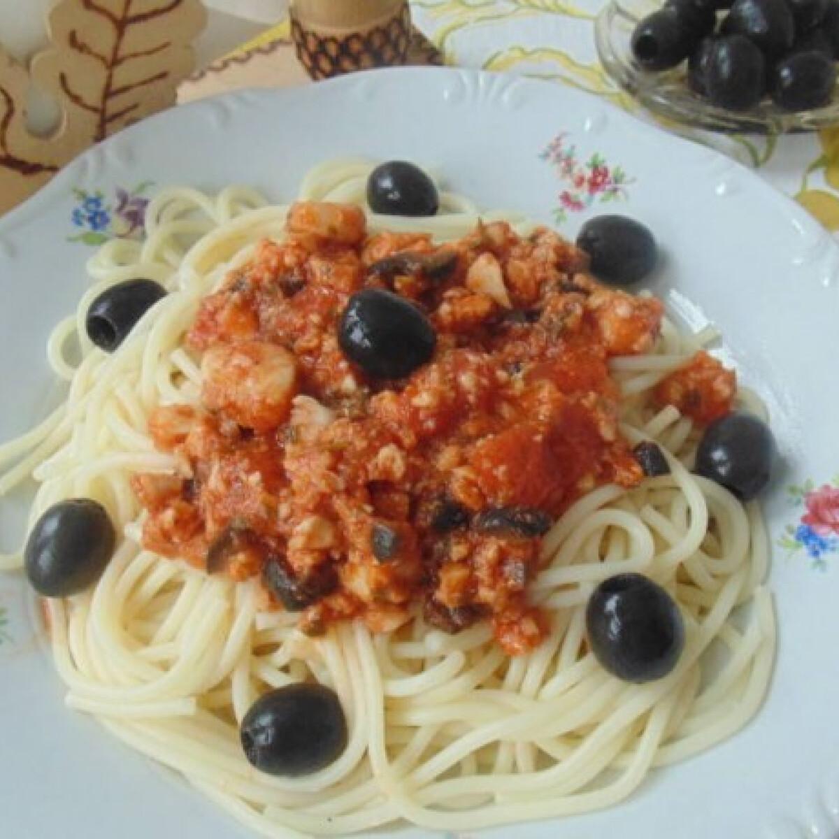 Spagetti tengerész módra