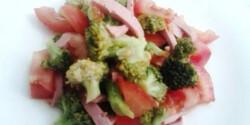 Egyszerű brokkolisaláta