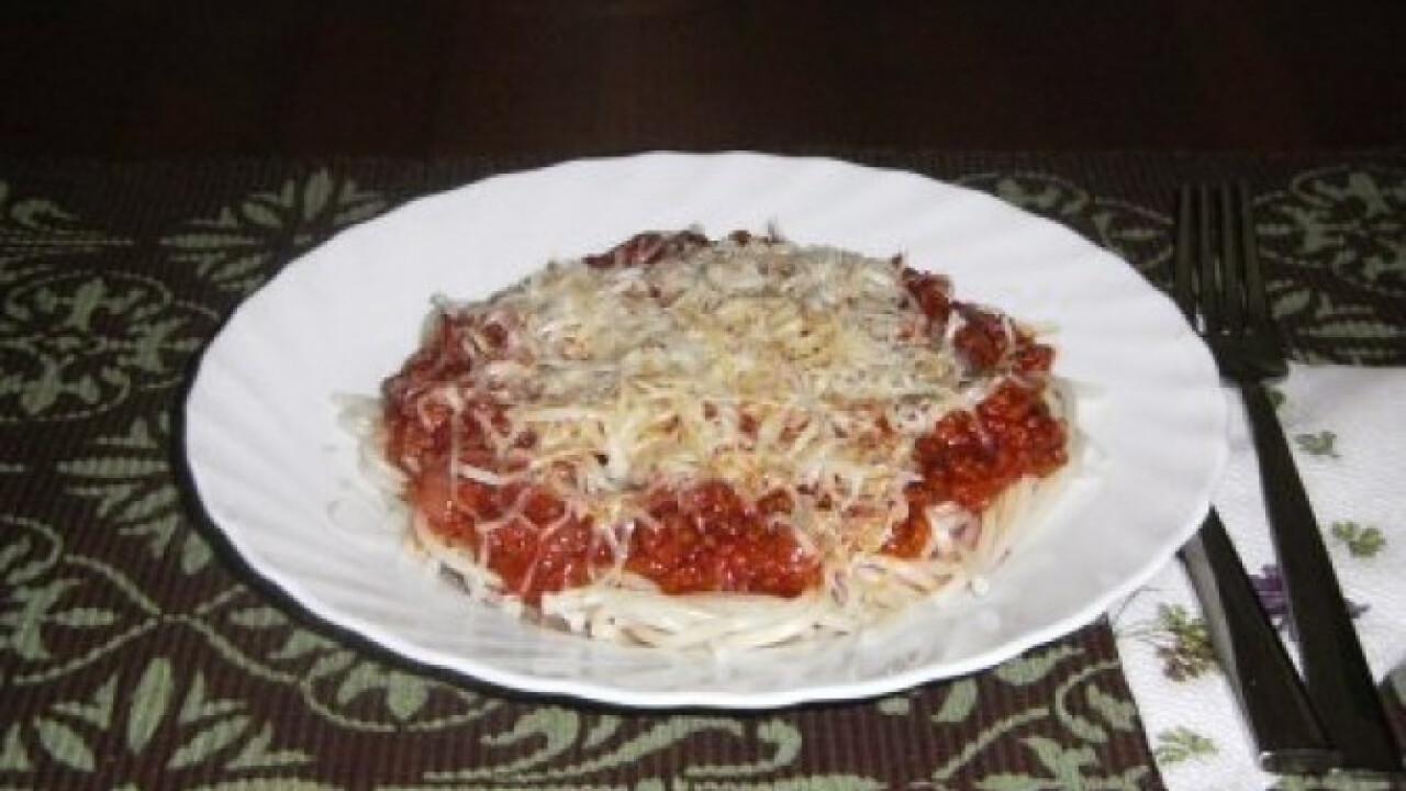 Bolognai spagetti 8.