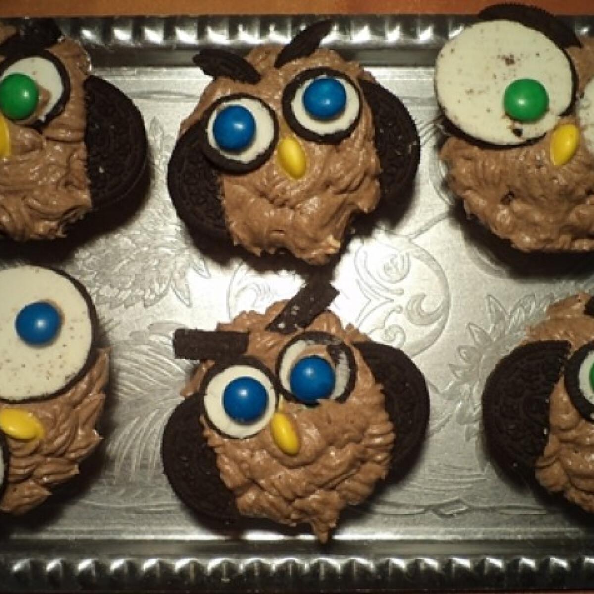 Ezen a képen: Baglyos muffin