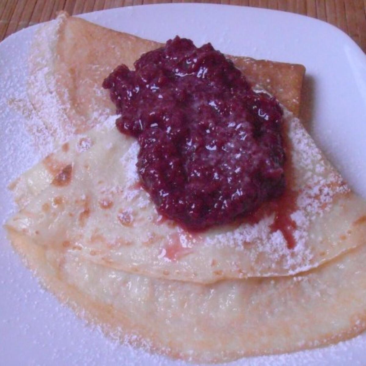 Ezen a képen: Gluténmentes palacsinta Wikitől