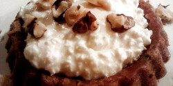 Castagnaccio-a toszkán gesztenyeliszt torta
