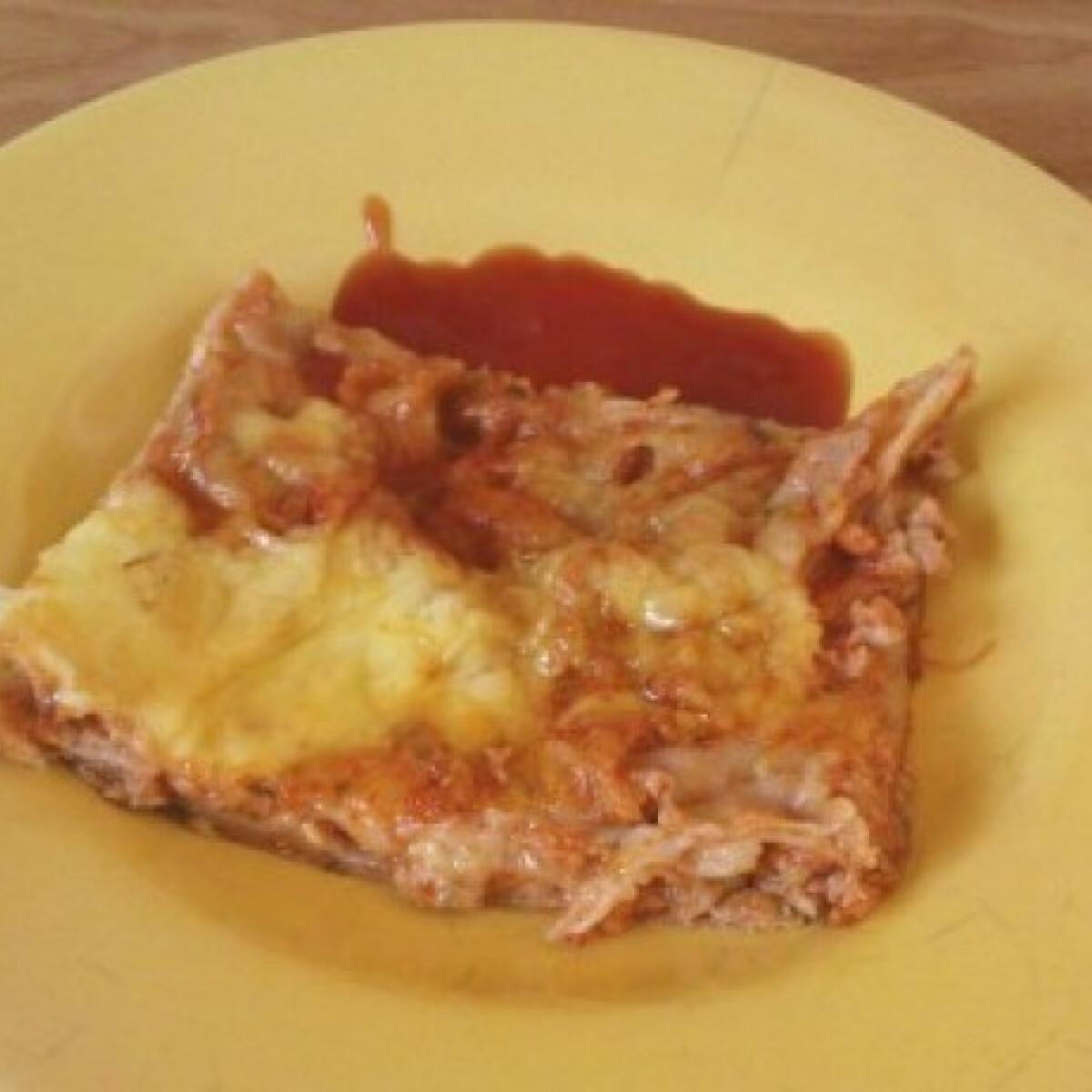 Ezen a képen: Lasagne réteslapból
