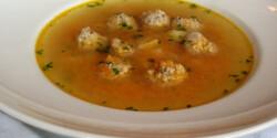 Húsgombócos erdélyi leves