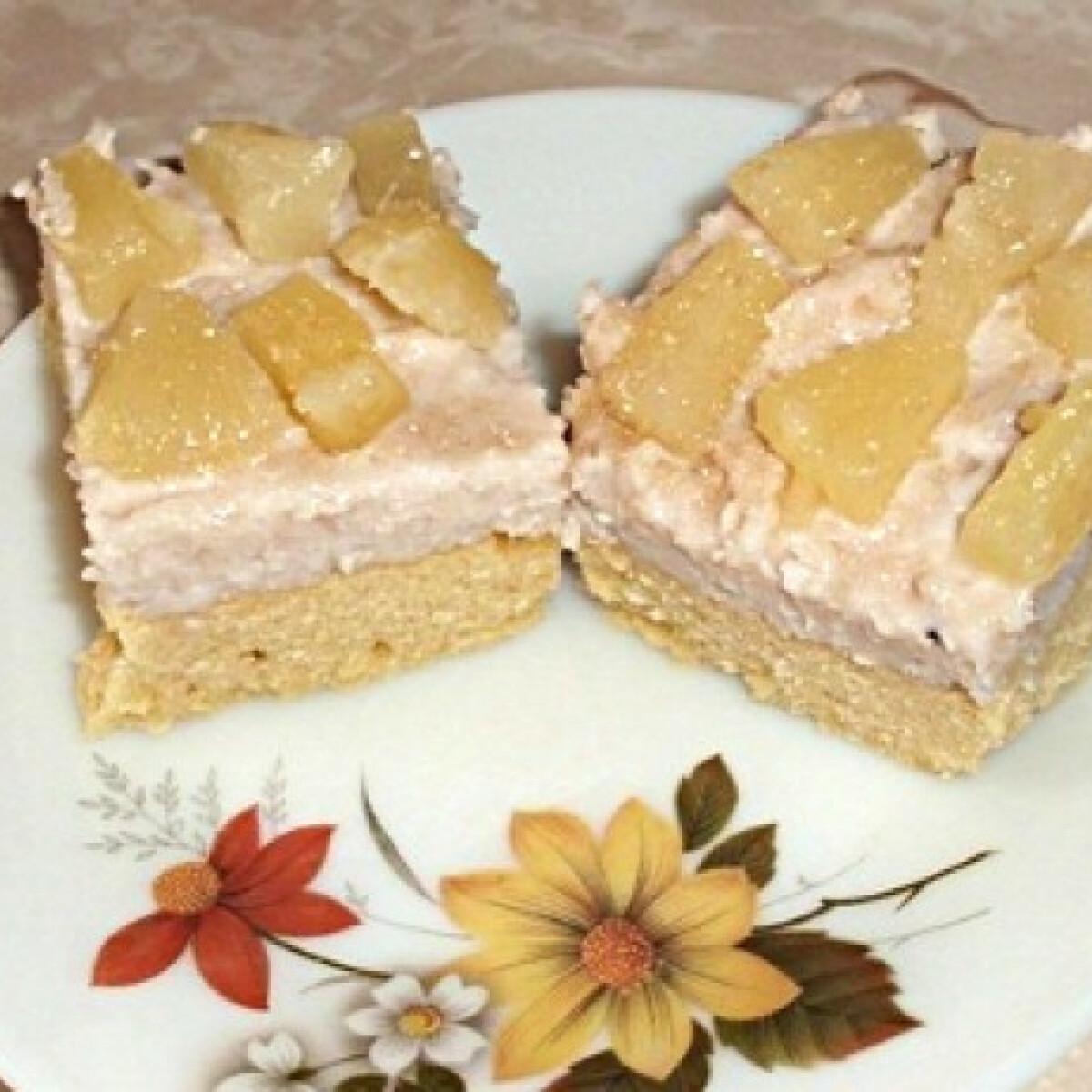 Ezen a képen: Grízes sütemény