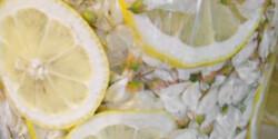 Akácszörp citromosan