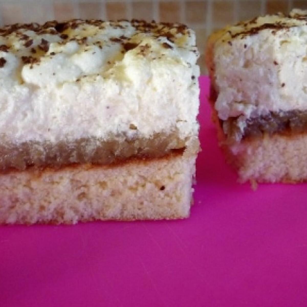 Rizses-almás süti