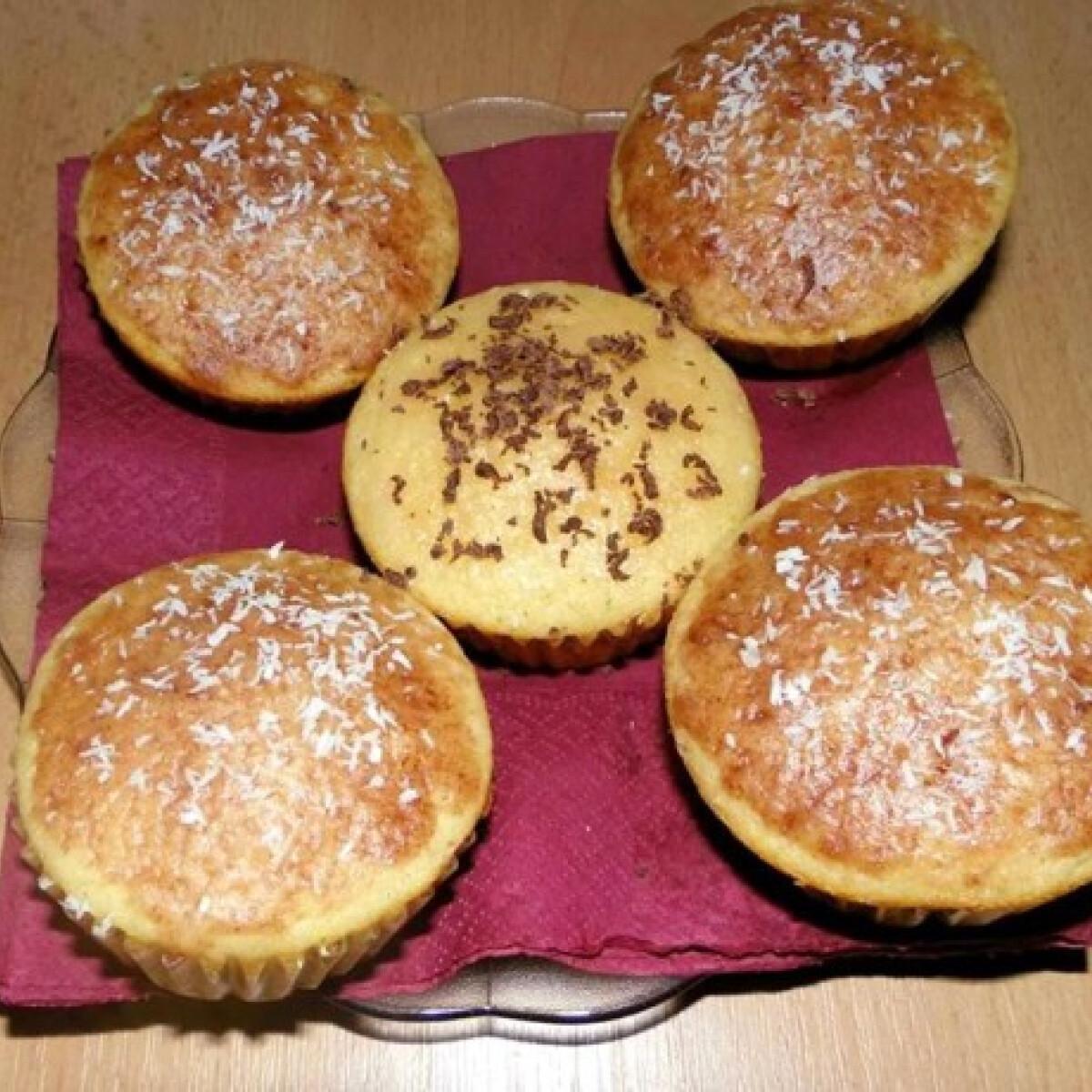Csokidarabos muffin ahogy Ella készíti
