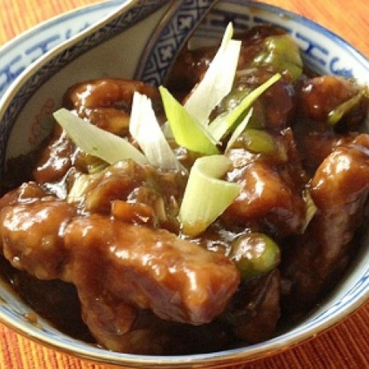 Ezen a képen: Mongol sertéshús