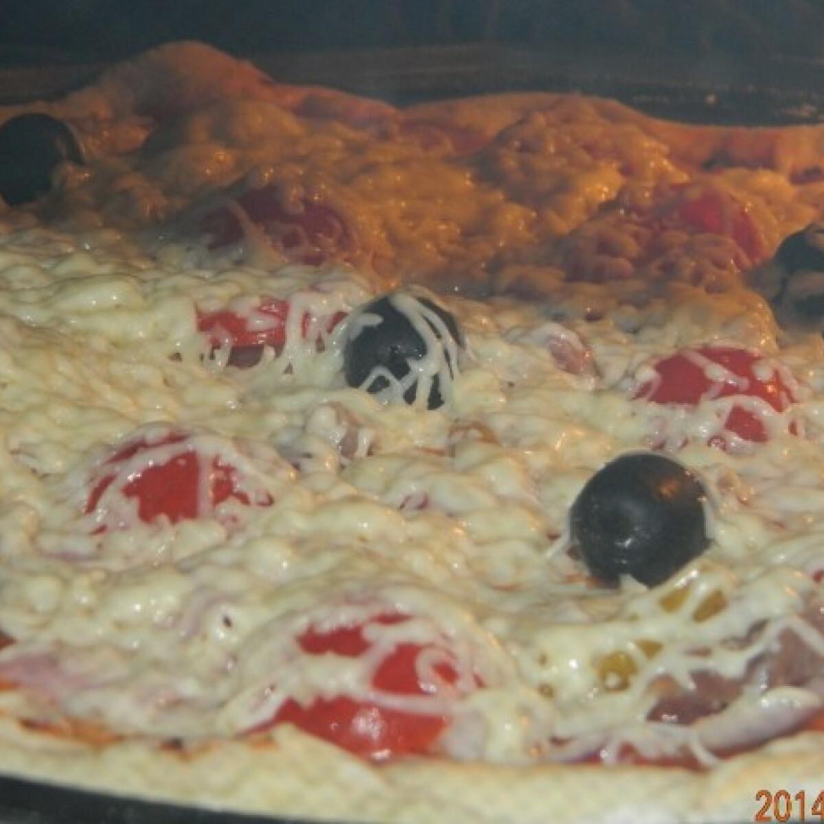 Igazi vékony pizza