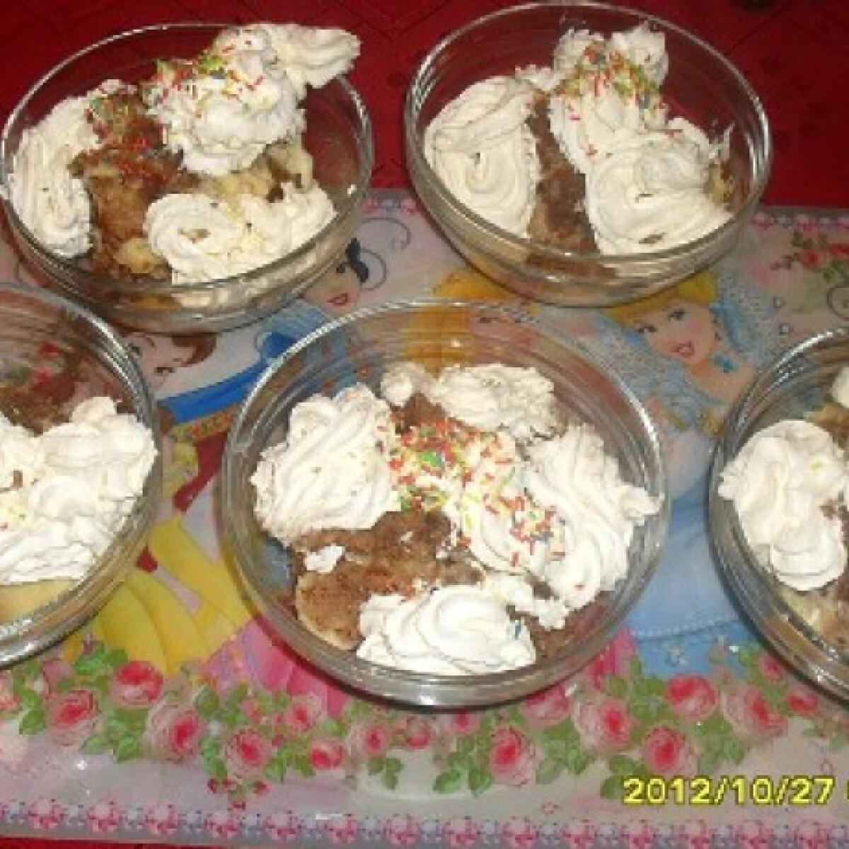 Ezen a képen: Somlói galuska Kiss Móni konyhájából