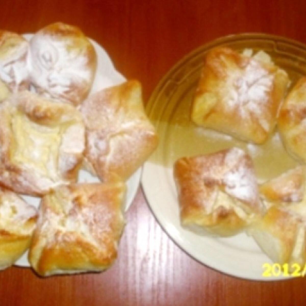 Ezen a képen: Túrós batyu Kinguci konyhájából