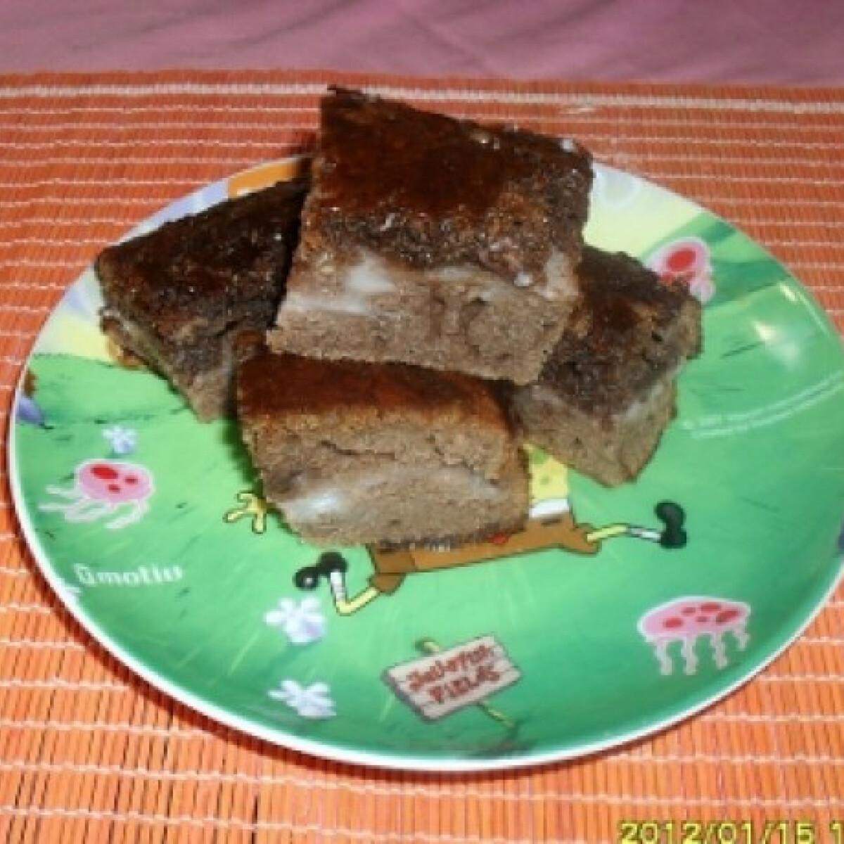 Ezen a képen: Kakaós süti pudinggal