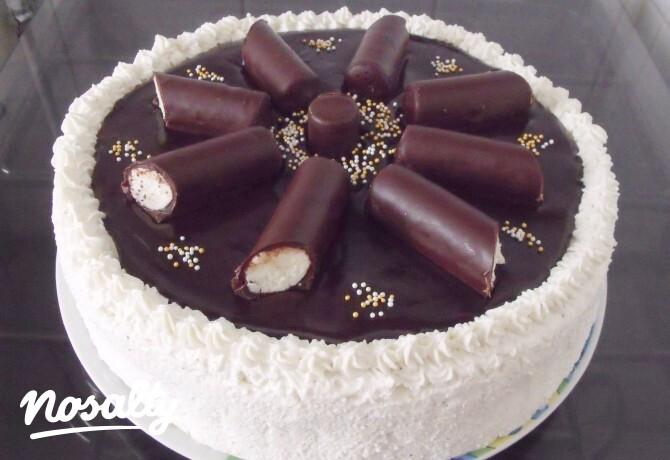 Ezen a képen: Túrórudi torta SüniSüti konyhájából