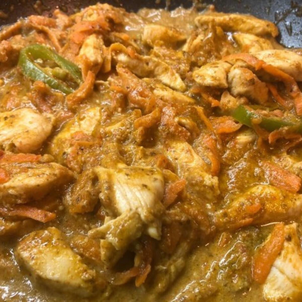 Ezen a képen: Különleges pesto-s csirke