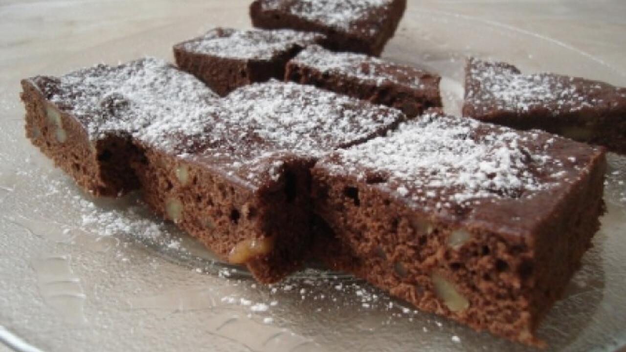 Csokis-mogyorós sütemény