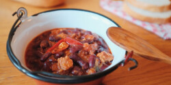 Chili con carne Katharosz konyhájából