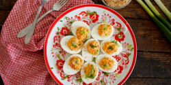 Csípős töltött tojás