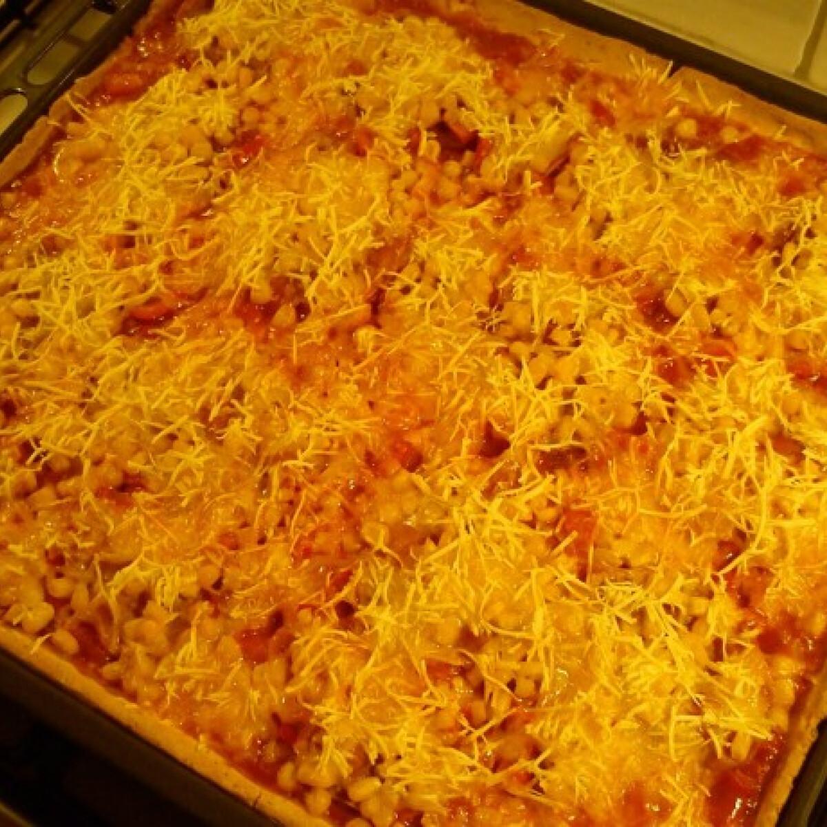 Ezen a képen: Olasz fűszeres pizza tej- és gluténmentesen