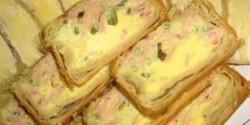 Sonkás-sajtos sörkorcsolya