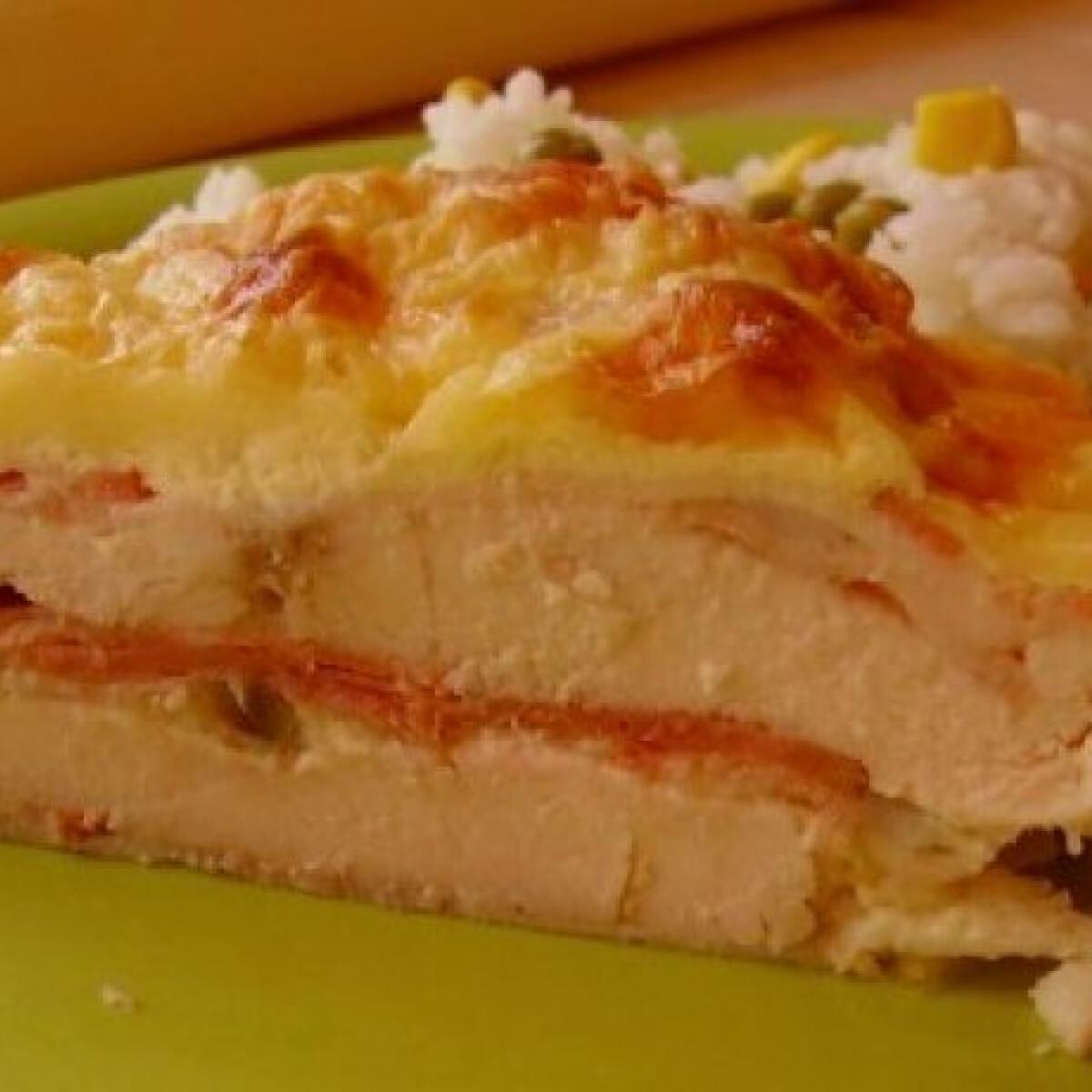 Ezen a képen: Bacon-ös rakott csirkemell 3.