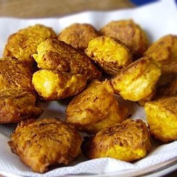 Currys sütőtökfánk