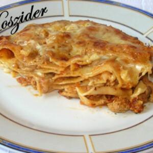 Lasagne parmezános besamellel