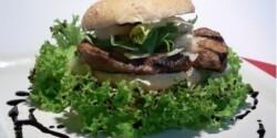 Mustáros grillburger
