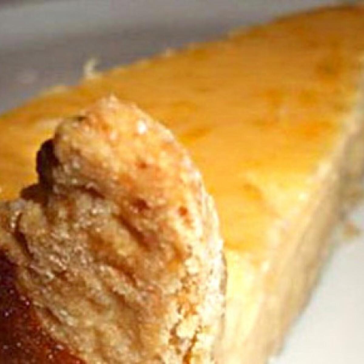 Francia citromtorta házi recept alapján