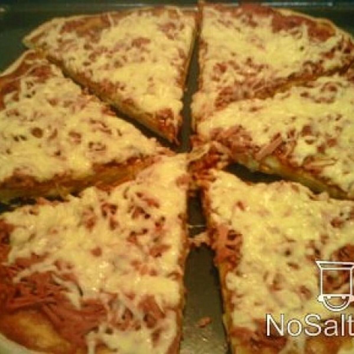 Gyors csípős pizza