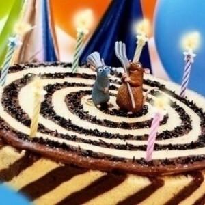Csokimousse-gesztenyemousse torta