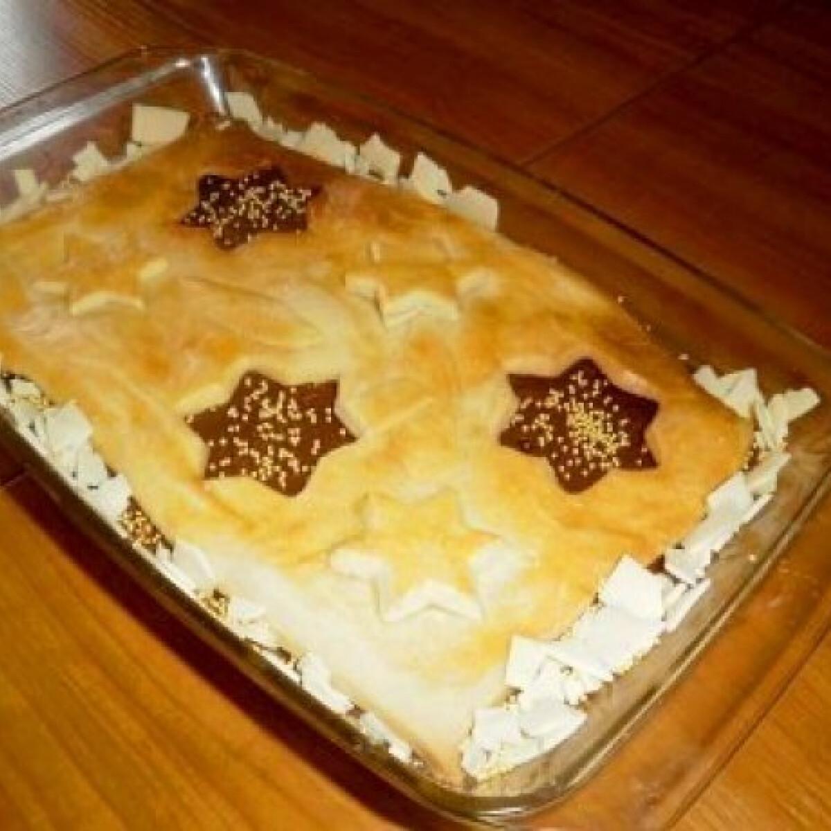 Ezen a képen: Kókuszos-csokoládés sütemény