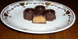 Karamellkrémes bonbon