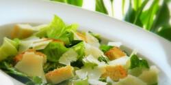 Ceasar saláta Mercedes konyhájából