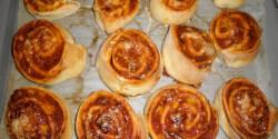 Pizzás csiga Helly konyhájából