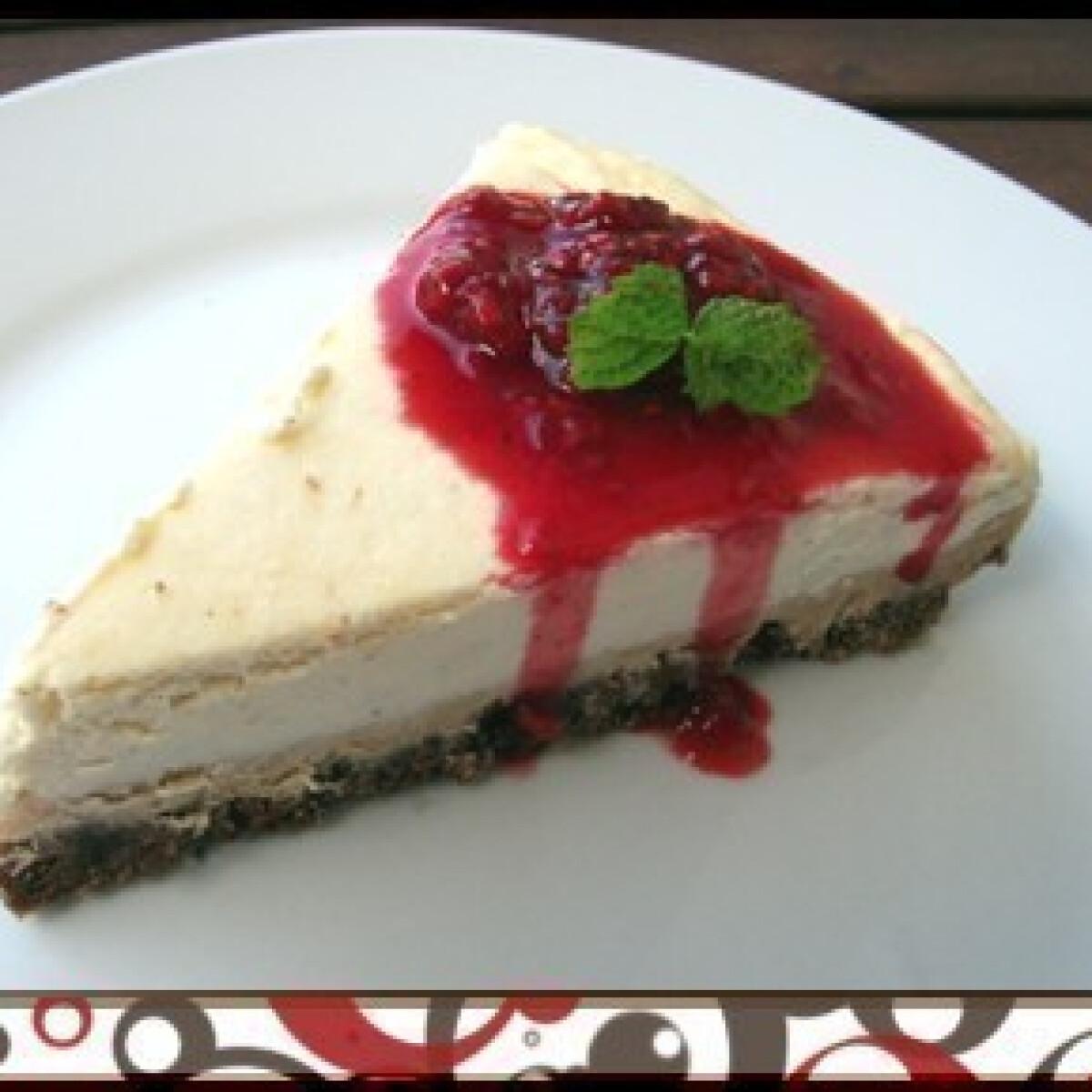 Ezen a képen: Dupla kekszes cheesecake